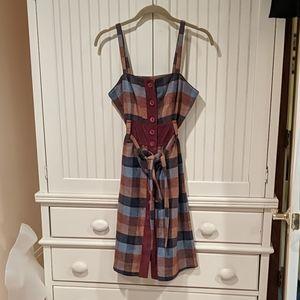 Maple Tweed Check Dress